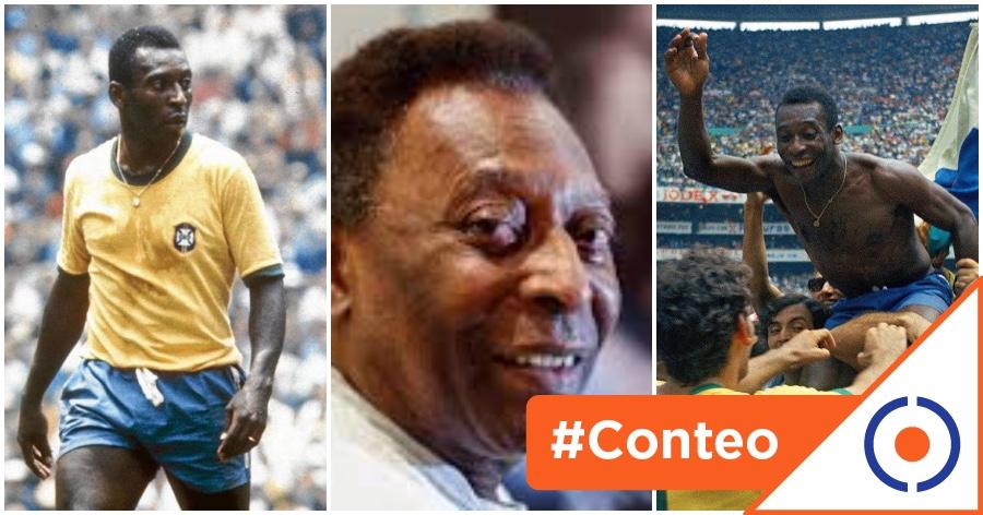 #Impresionanti: 10 golazos de antología de Pelé… Felices 80 O Rei