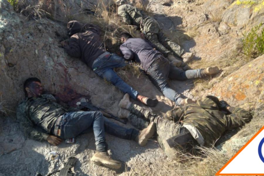 #Inseguridad: Abaten a 14 sicarios en enfrentamiento con policía de Zacatecas