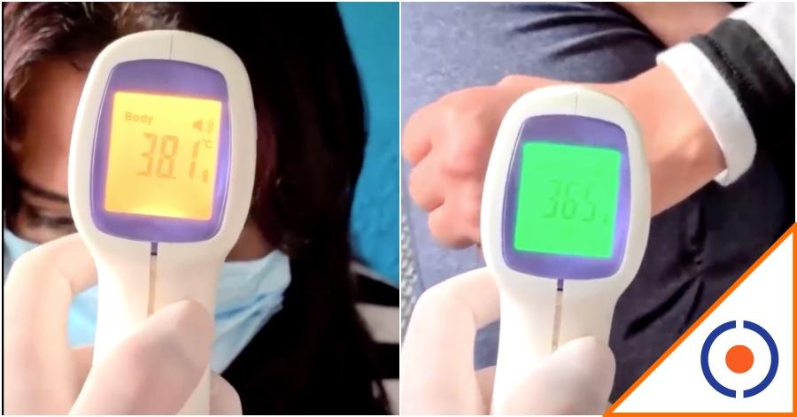 #Covid19: Tomar temperatura en mano es un terrible error… Hasta 2 grados menos