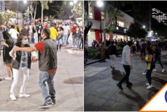 #Covid19: Arman fiesta en la calle por el cierre de bares… ¡Lamentable!