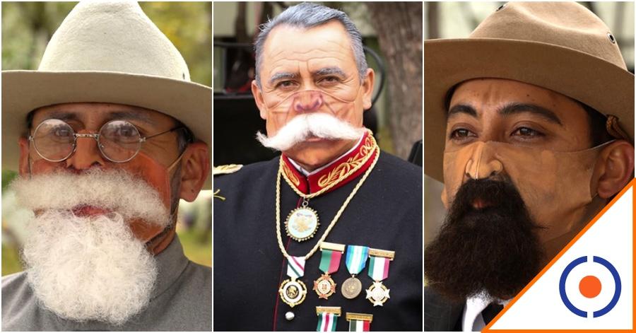 #Loquillos: Usarán cubrebocas con barba y bigotes en desfile de la Revolución