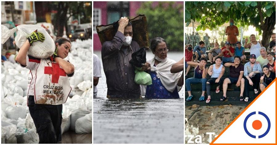 #FuerzaTabasco: Tras falta de apoyo del gobierno los ciudadanos se unen