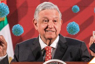 #EnLosMedios: 71% de los mexicanos desaprueba que el presidente no use cubreboca