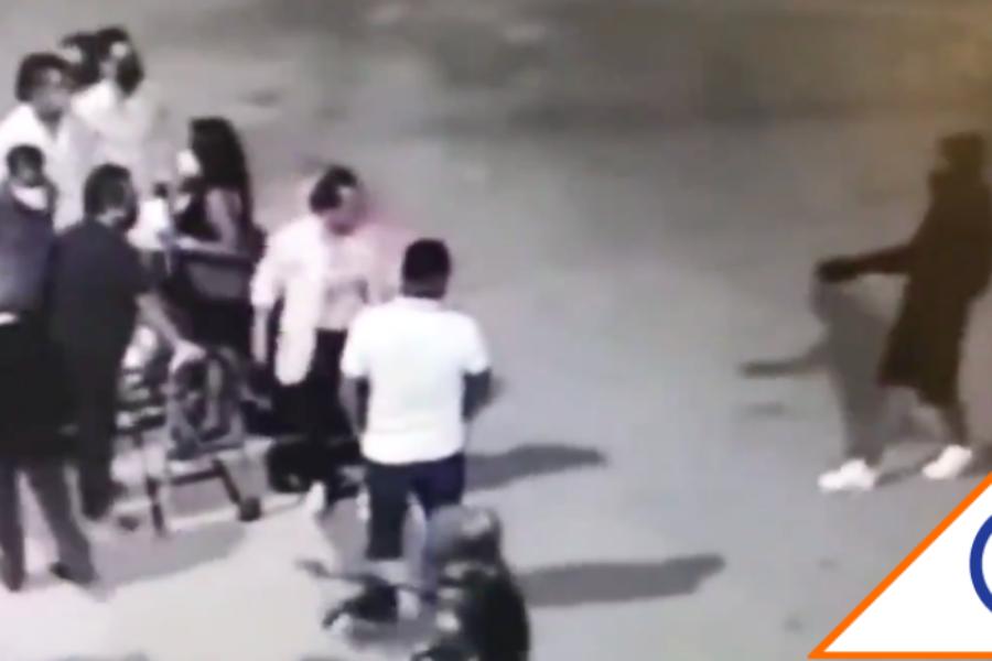 #Viral: Después de misa, asaltan a fieles afuera de iglesia en Monterrey