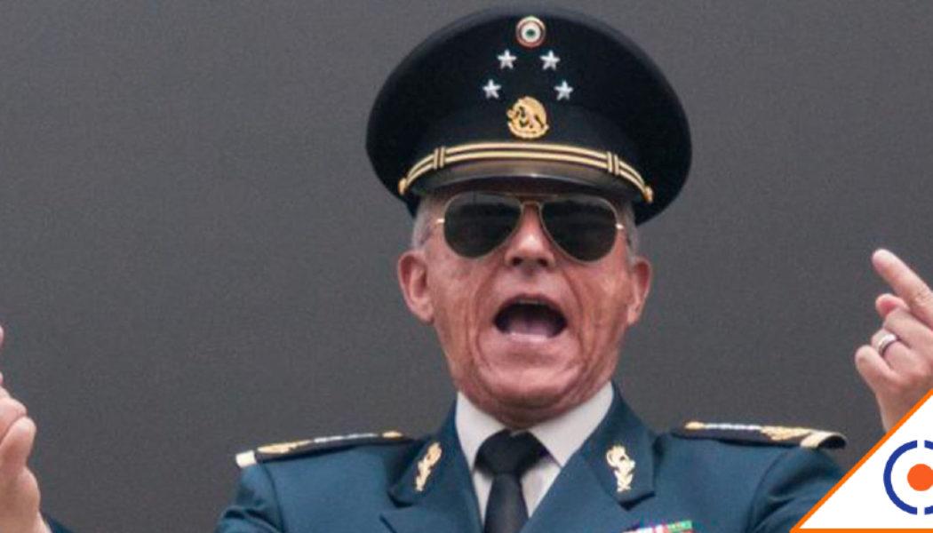 #UstedDisculpe: Cienfuegos ya está en México y se fue a su casa