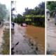 #SobreMojado: Con ciudad anegada, caminos destruidos… vuelve lluvia al sureste