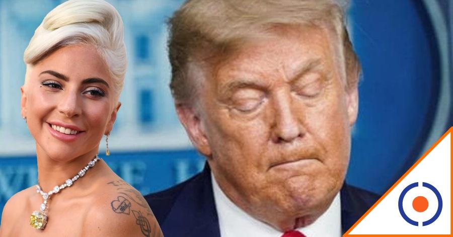 #HayTiro: Lady Gaga hace pedazos a Trump… ¿Tendrá las horas contadas?