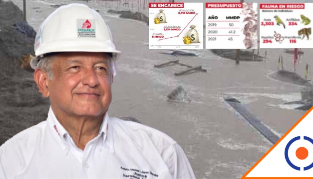 #Necedad: Dos Bocas se ha inundado 5 veces y Obrador ordenó asignarle 136 mil MDP