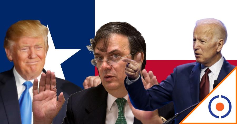"""#WTF: """"Marcelo Ebrard operó voto latino a favor de Donald Trump en Texas"""""""