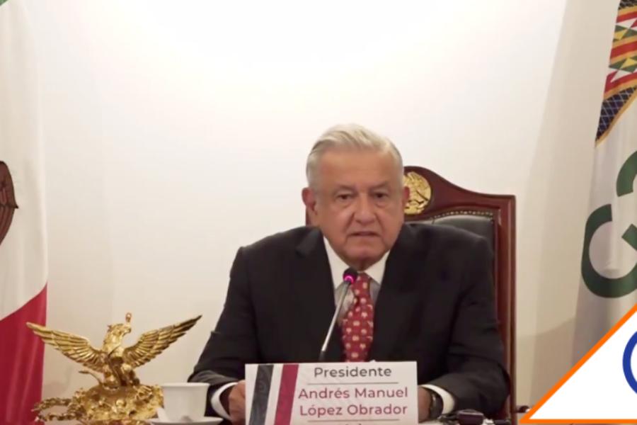 #G20: Obrador se niega a 'toque de queda'; responsabiliza a la gente de contagios