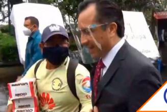 #LordChocolate: Gober de Veracruz le duele gastar 10 pesos para ayudar a vendedor