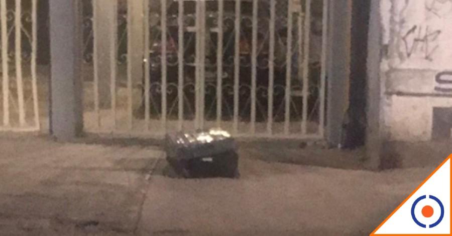 #OMG: Abandonan maleta con restos humanos en CDMX, detienen a dos adolescentes