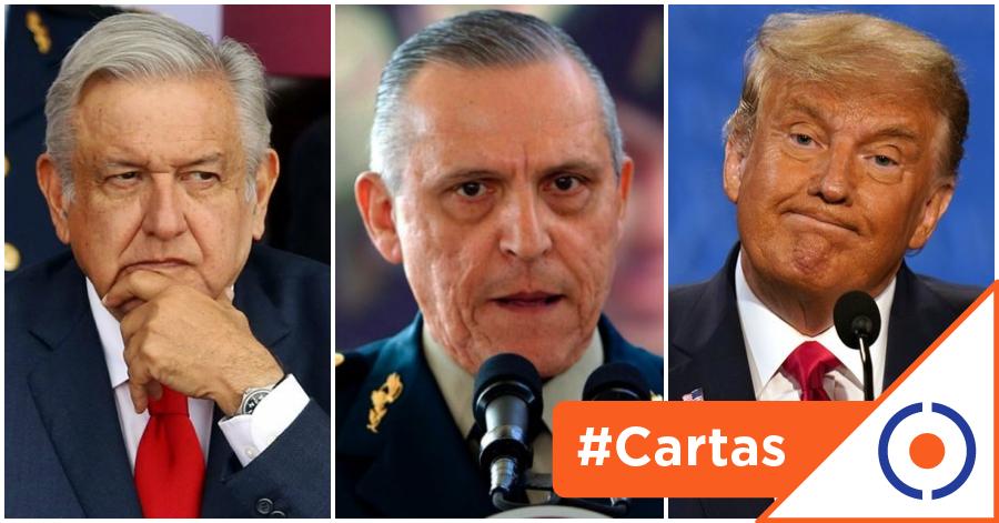 #CartasDeUnCiudadano: Cienfuegos y cien preguntas que se hacen México y EE.UU.