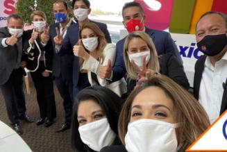 #ConTokio: Sí por México une a presidentes del PAN, PRI y PRD… firmaron agenda