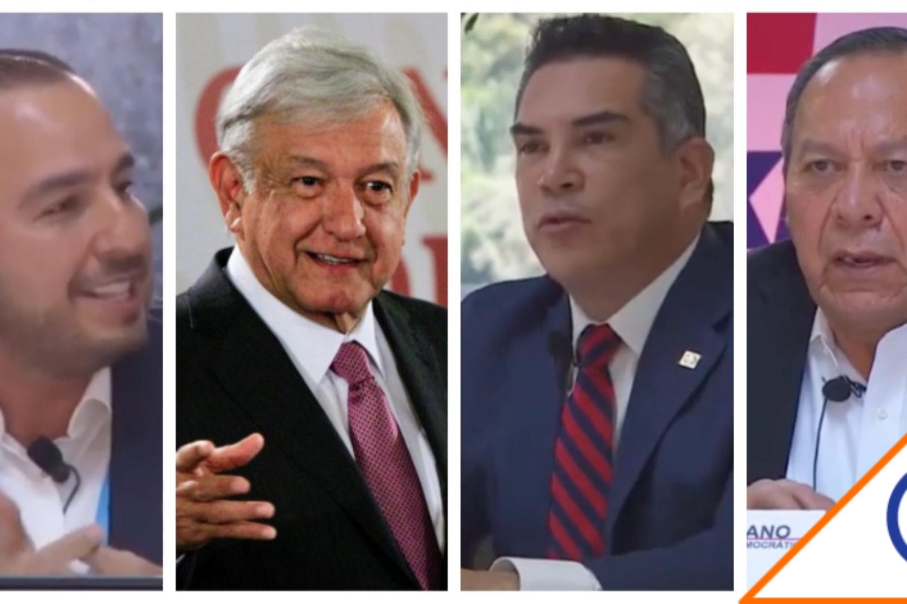 SíPorMX: Presidentes de PRI, PAN y PRD hacen temblar a Morena... juntos por  MX - CER