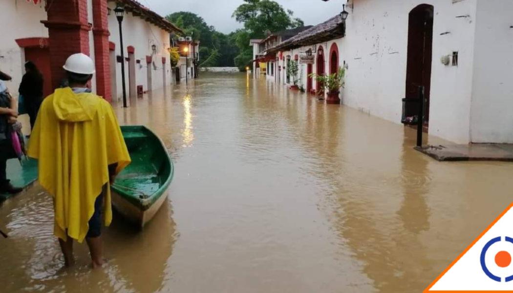 #OMS: Suman 900 mil damnificados y se esperan más desbordamientos en Tabasco