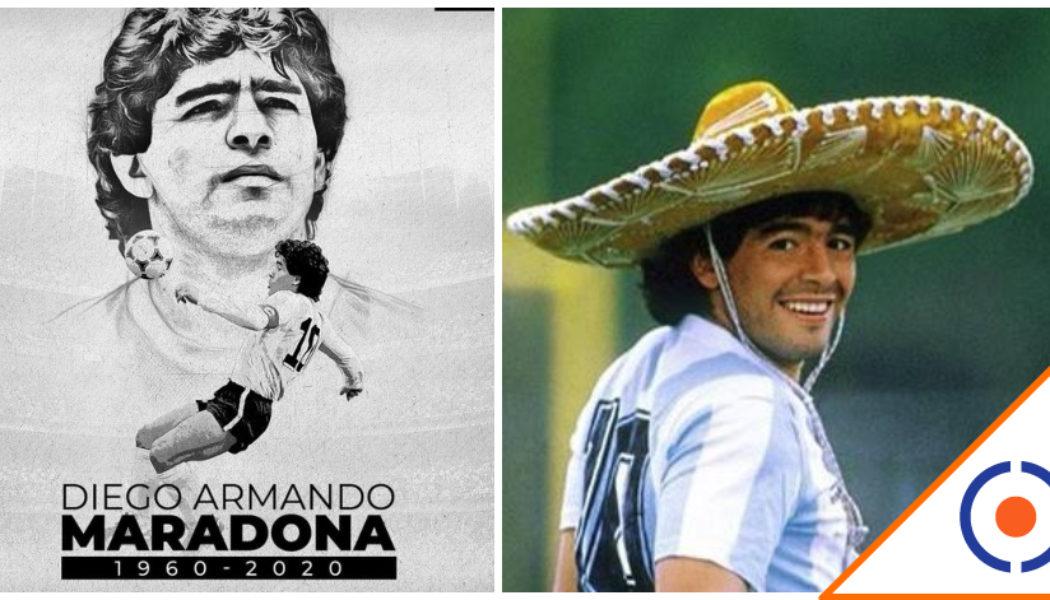 #D10S: Medios argentinos confirman el fallecimiento de Maradona… Adiós Pelusa