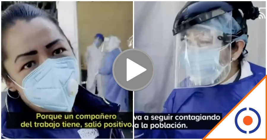 #CDMX: Quioscos de pruebas rápidas de Covid, focos de contagio… aterrador video