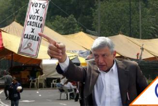 #TBT: El día que López Obrador paralizó la CDMX con su berrinchudo plantón