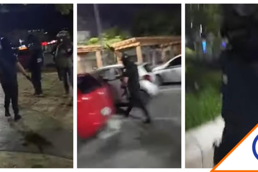 #GobiernoDeMorena: Policías de Cancún dispersa protesta por feminicidio a balazos
