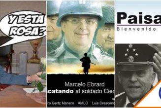 #Viral: Las Redes le pusieron una memiza a Cienfuegos tras polémica liberación