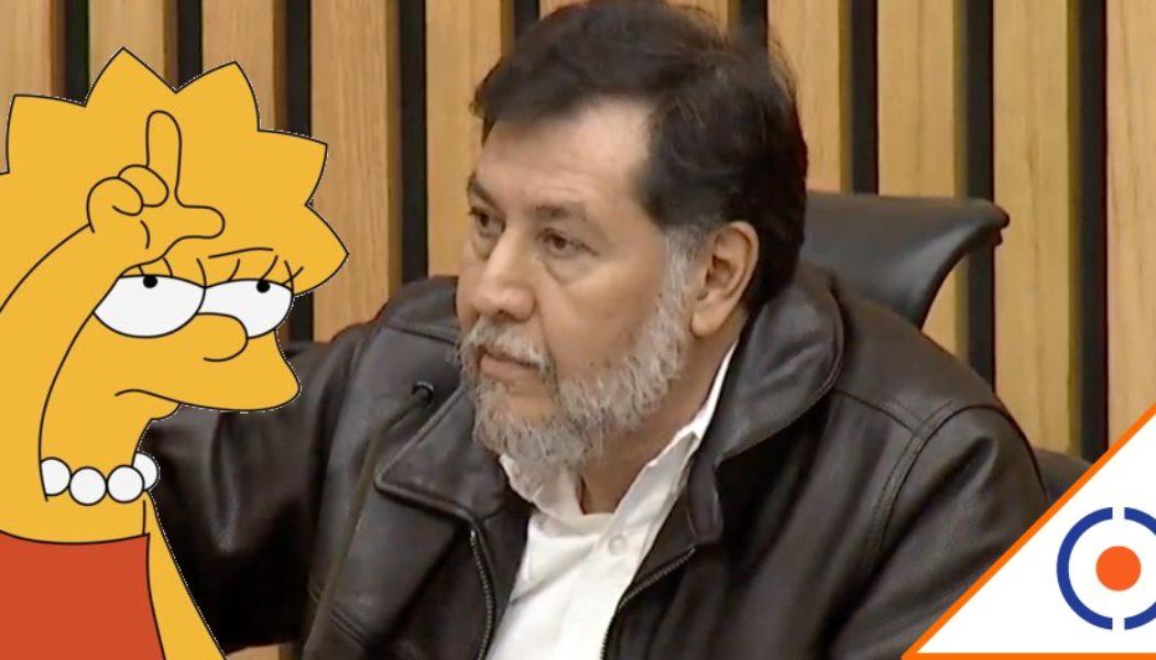 #Imprudente: Noroña se niega a usar cubrebocas… Y el INE se la aplica