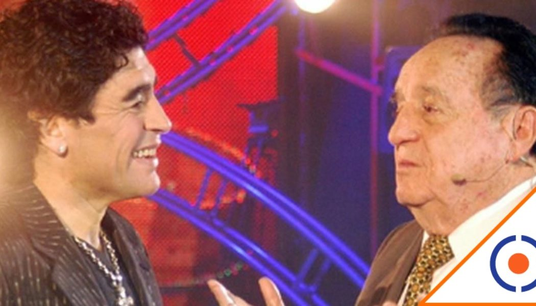 #Viral: El día que Maradona entrevistó a Chespirito… Lo amaba