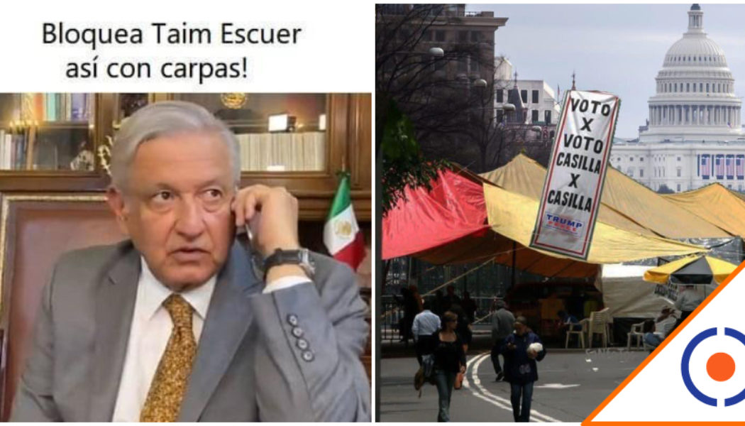 #Rifados: Checa los mejores memes de la elección en EU… A Trump le llovió