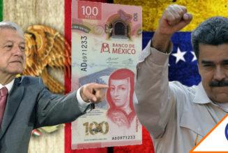 #AyNanita: Presentan nuevo billete de 100 MXP… igualito al bolívar de Venezuela