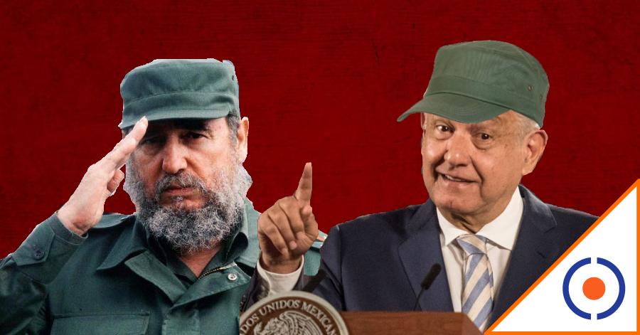 #Dictador: Comparan a Obrador con Fidel Castro por largos discursos matutinos