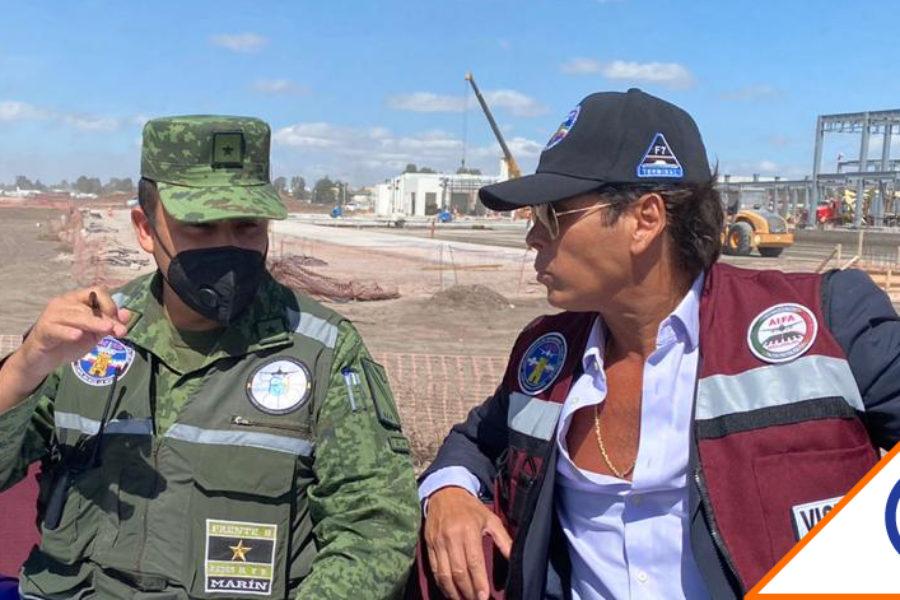 #Mirrey: Ejército da polémico tour por Santa Lucía a Roberto Palazuelos