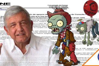 #Zombie: 5 mil muertos votaron en Consulta Popular de juicio contra expresidentes