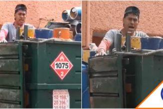 #Joya: Vendedor canta villancico en la calle al grito del gaas… Se vuelve viral