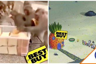 #Joyas: Se armó la memiza por exceso de gente en tiendas Best Buy… Puras risas