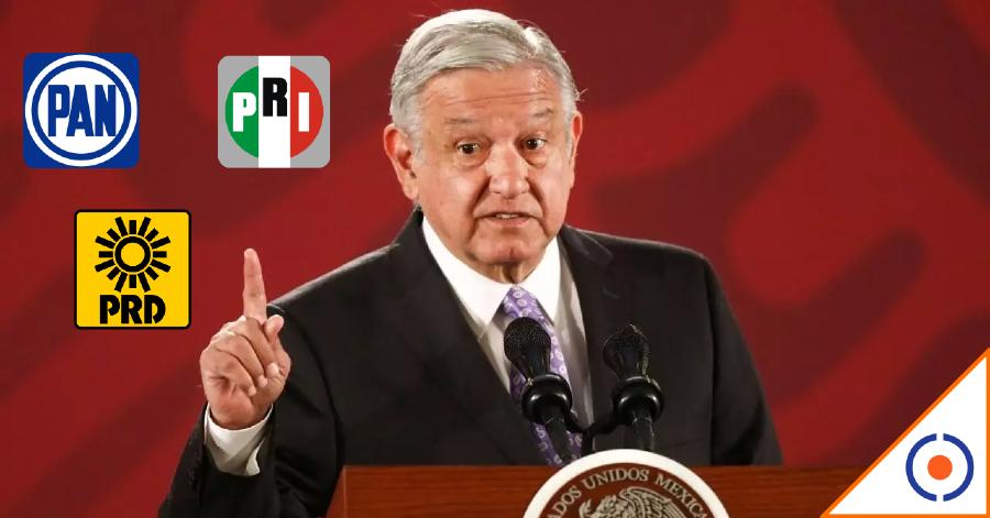 #Necio: INE ordenó a Obrador no opinar de elecciones, criticó alianza PRIAN-PRD