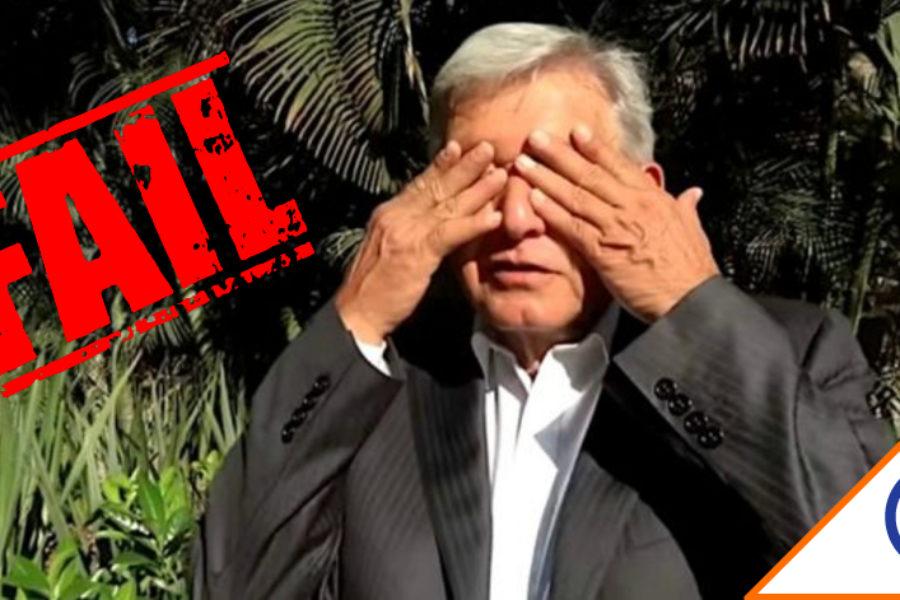 #Reprobado: Ciudadanos dicen que Obrador no la arma en seguridad, salud, ni economía