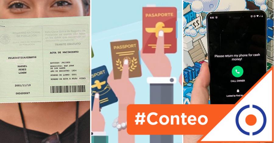 #Conteo: 10 datos que el gobierno te obligará a dar para registrar tú celular