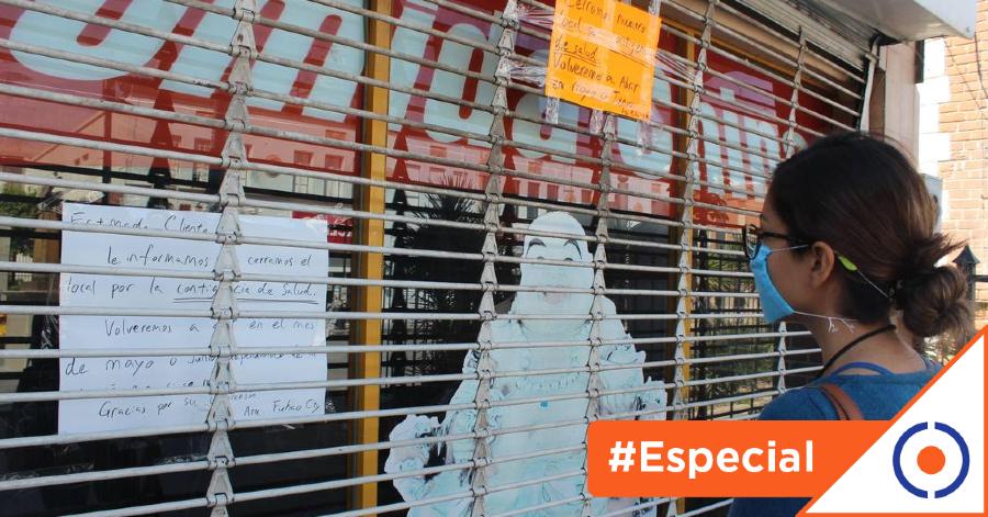 #Especial: Pandemia provocó el cierre de un millón de empresas en México