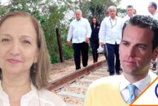 #LoretDeMola: Felipa Obrador tiene varias hectáreas a la orilla del Tren Maya