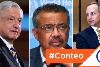 #Conteo: 7 malas decisiones de López Obrador en el manejo de la pandemia