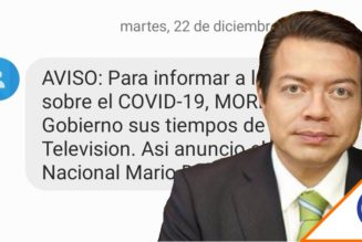 #OMG: Usuarios denuncian mensajes de texto de Morena… Otra vez violando la ley