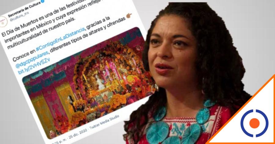 #Atinada: Secretaría de Cultura celebra Navidad… con mensaje de Día de Muertos