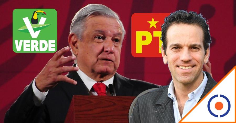 #HayTiro: Autoritarismo de López Obrador causaría rompimiento con el Verde y PT