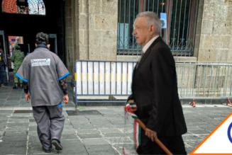 #Candil: Empleados que limpian casa de Obrador están contratados por outsourcing