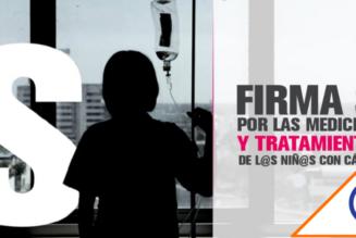 #SíPorMx: Lanzan campaña para garantizar por ley medicamento a niños con cáncer
