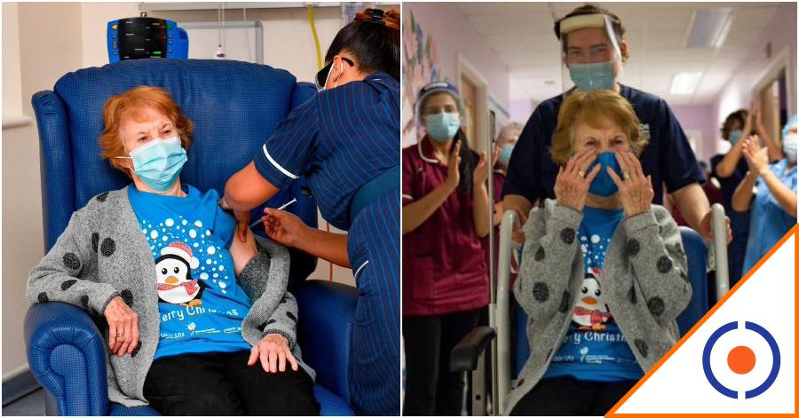 #Covid19: Reino Unido inicia vacunación… ¡Histórico momento!