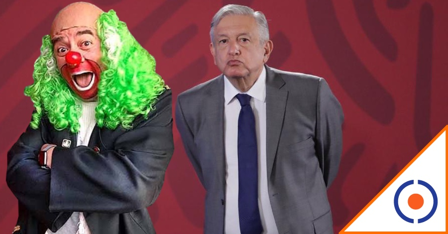 "#Covid19: ""Eres un pin$#3 presidente""… Brozo revienta a Obrador por vacunas"
