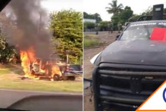 #Michoacán: CJNG aterroriza al estado, lleva 9 días de ataques en 13 municipios