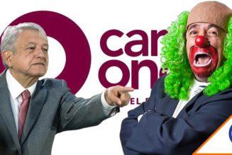 #Autoritario: Obrador ataca a Brozo a través de Canal Once… Odia la crítica