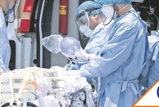 #Rebasados: CDMX llega a 87% de capacidad hospitalaria… Quédate en casa